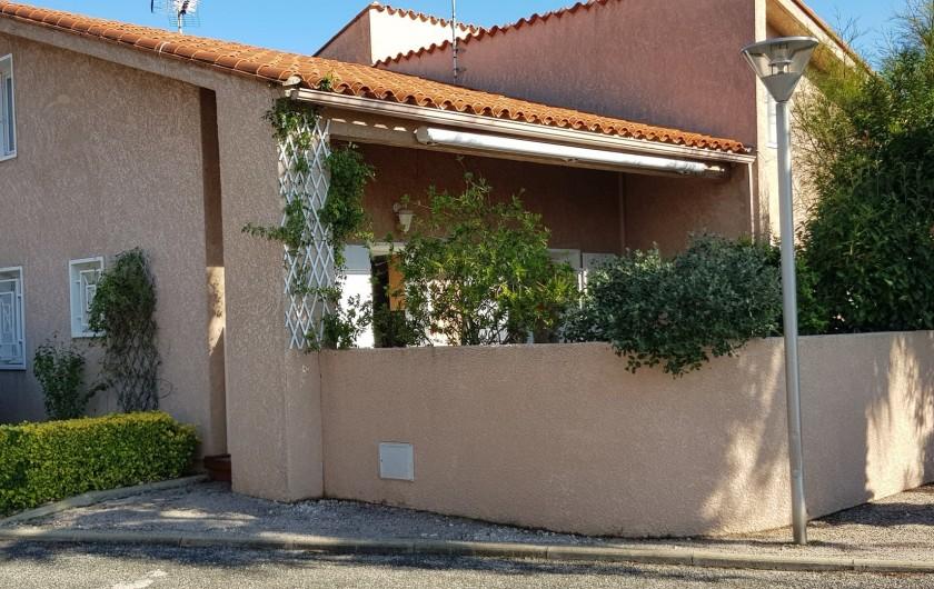 Location de vacances - Villa à Saint-Cyprien Plage - Extérieur