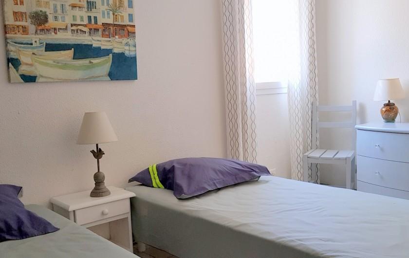 Location de vacances - Villa à Saint-Cyprien Plage - Chambre 1er étage
