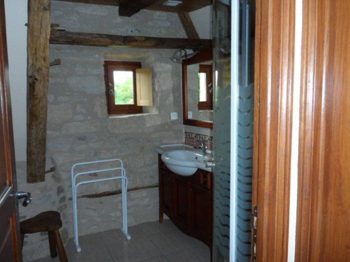 Location de vacances - Gîte à Trezebens - 1er étage salle d'eau