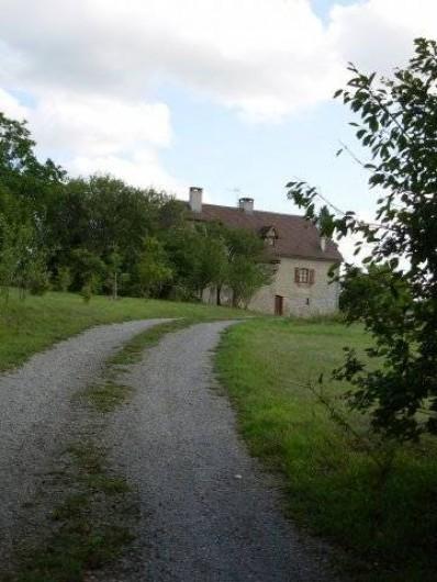 Location de vacances - Gîte à Trezebens - Chemin d'accès privé