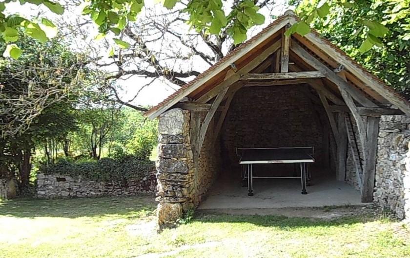 Location de vacances - Gîte à Trezebens - même s'il pleut vous pourrez jouer au ping pong!!!!!