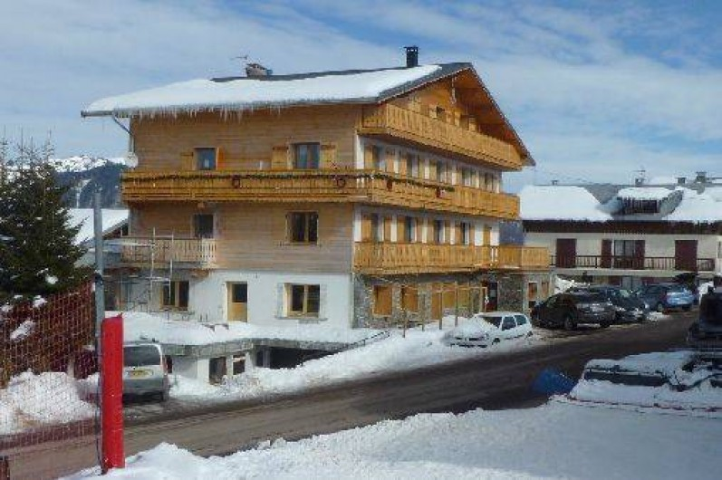 Location de vacances - Appartement à Crest-Voland