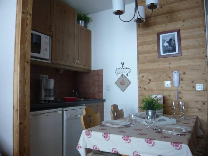 Location de vacances - Appartement à Méribel-Mottaret - Kitchenette
