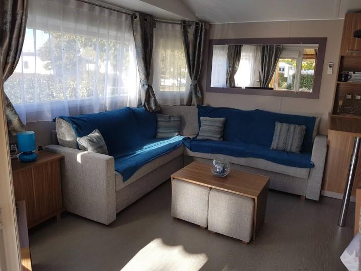 Location de vacances - Bungalow - Mobilhome à Gastes - SALON