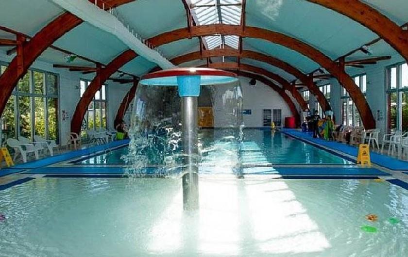 Location de vacances - Bungalow - Mobilhome à Gastes - PISCINE INTÉRIEUR CHAUFFÉE