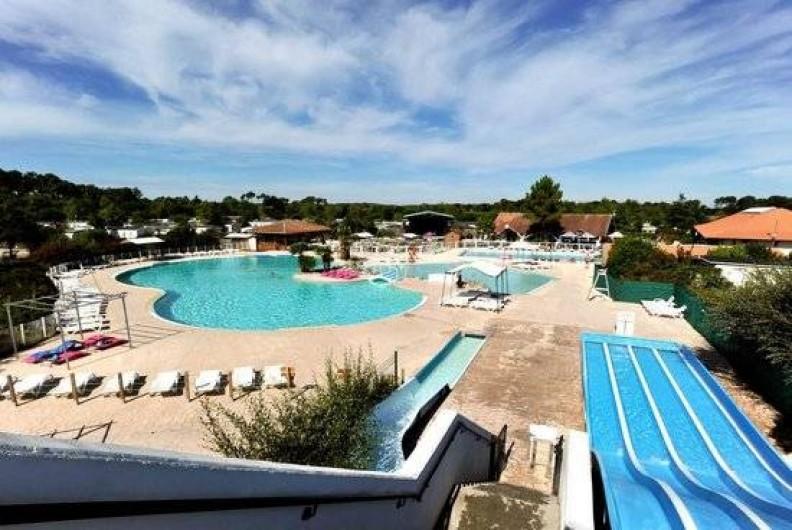 Location de vacances - Bungalow - Mobilhome à Gastes - PISCINES