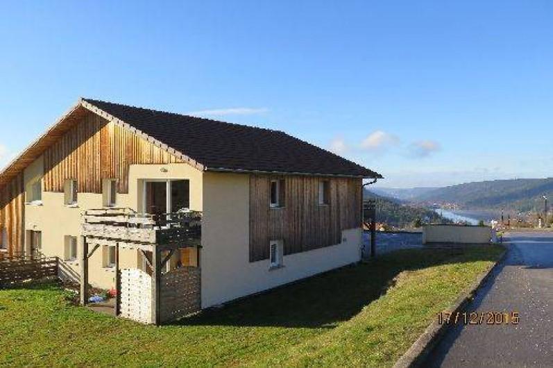 Location de vacances - Appartement à Gérardmer - Vue depuis l'extérieur