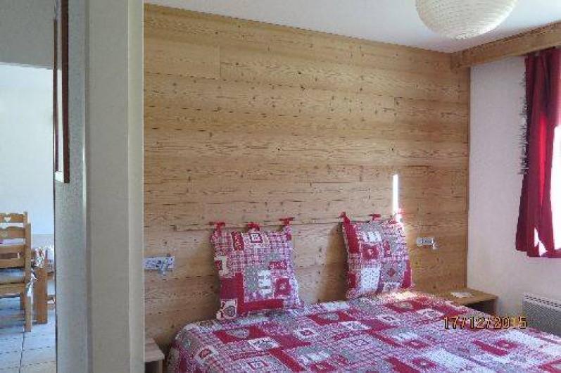 Location de vacances - Appartement à Gérardmer - Chambre adulte