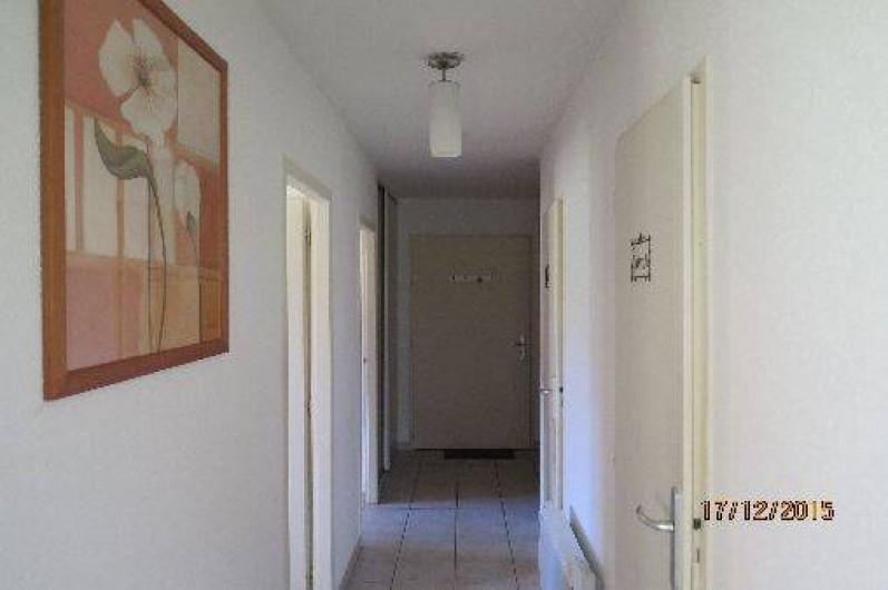 Location de vacances - Appartement à Gérardmer - Couloir