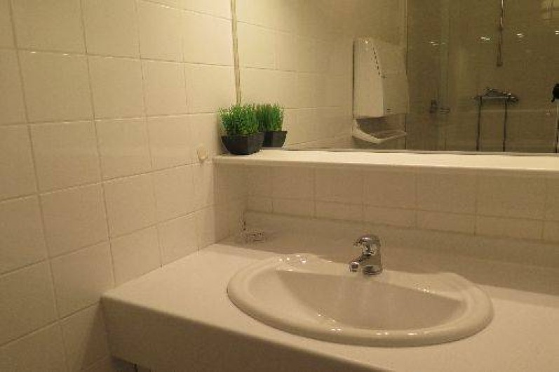 Location de vacances - Appartement à Gérardmer - Lavabo dans salle de bains