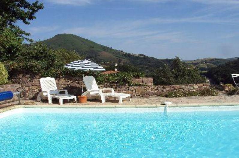 Villa Bidegaraya  Bidarray En Aquitaine Avec Piscine Chauffe En