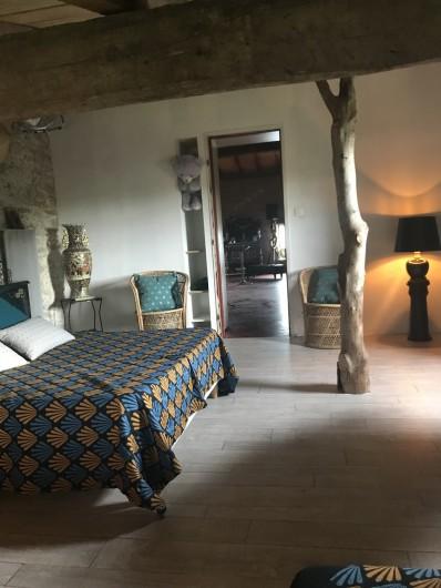 Location de vacances - Gîte à Vendine - Chambre3