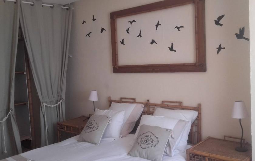 Location de vacances - Maison - Villa à Beaulieu-sur-Layon - La chambre parentale