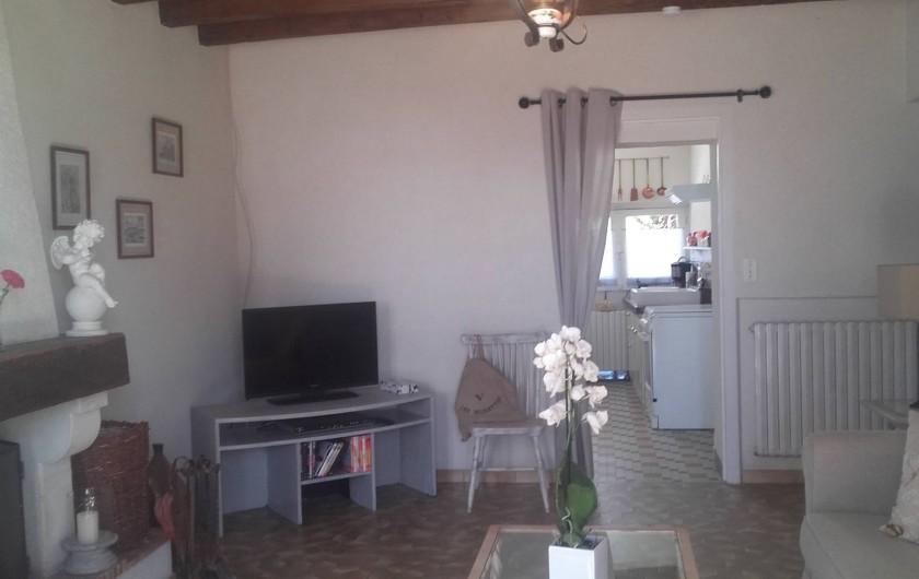 Location de vacances - Maison - Villa à Beaulieu-sur-Layon - La salle à manger