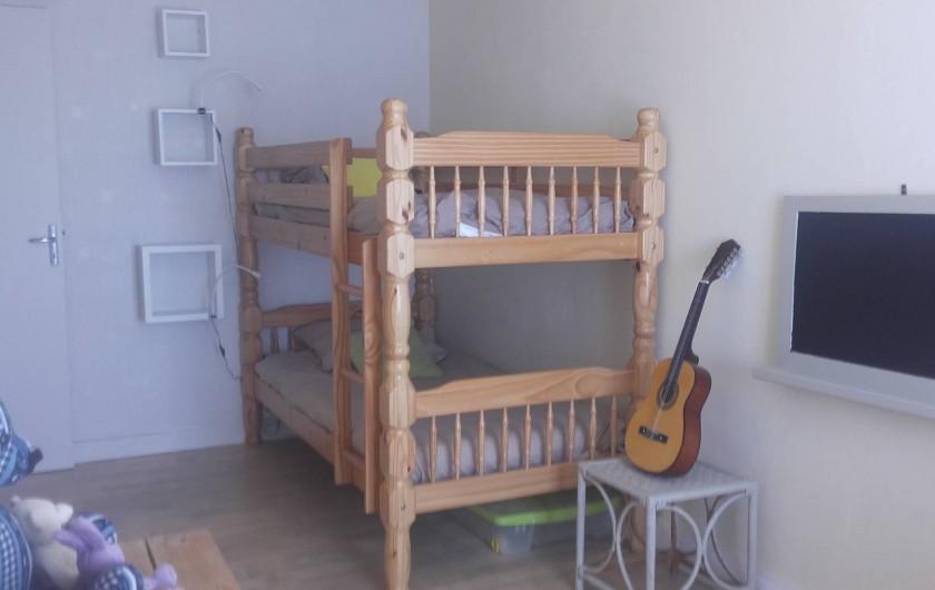 Location de vacances - Maison - Villa à Beaulieu-sur-Layon - La chambre enfants