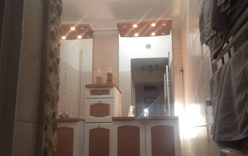 Location de vacances - Maison - Villa à Beaulieu-sur-Layon - La salle de bain