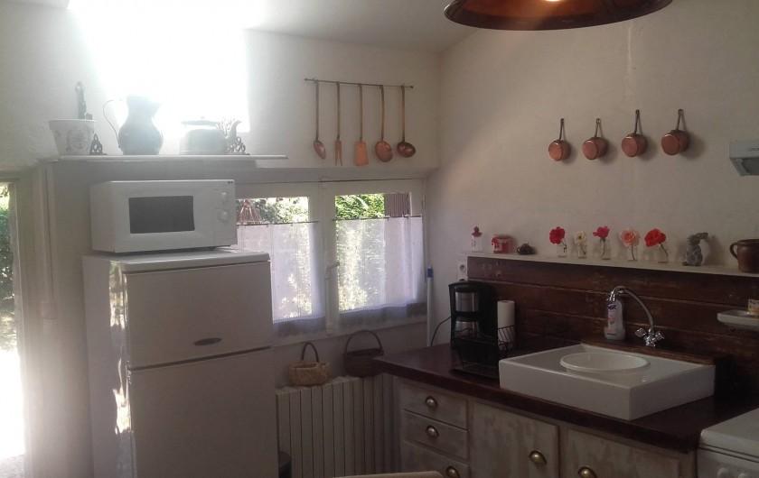 Location de vacances - Maison - Villa à Beaulieu-sur-Layon - La cuisine