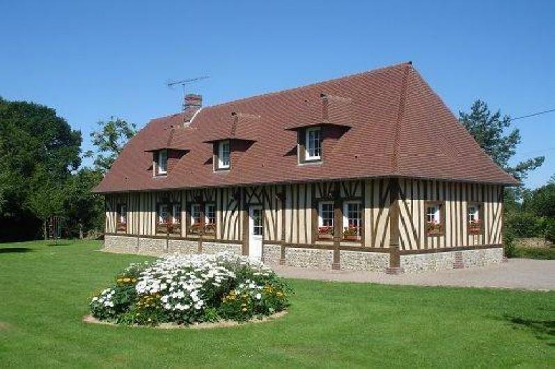 La maison normande trouville good maison normande a for Decoration maison normande