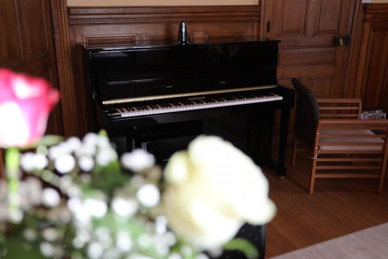 Location de vacances - Gîte à Raon-l'Étape - Piano