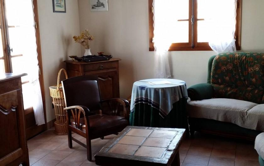 Location de vacances - Villa à La Tranche-sur-Mer - salon