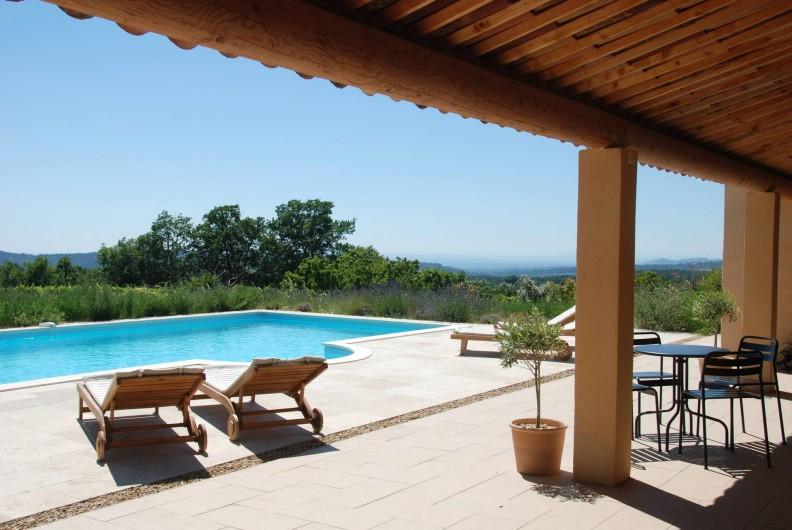 Location de vacances - Mas à Bédoin - Vue