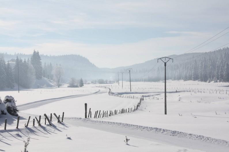Location de vacances - Appartement à Chaux-des-Prés - les pistes de ski de fond autour du village.