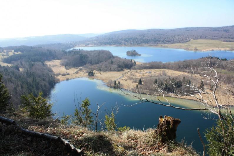 Location de vacances - Appartement à Chaux-des-Prés - le belvédère des quatre lacs .