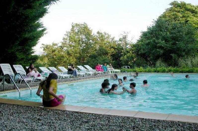 Location de vacances - Gîte à Grane - LA piscine partagée