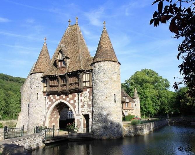 Location de vacances - Gîte à Marais-Vernier - Manoir de la Pommeraie Fatouville Grestain