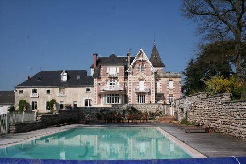 Gites De France Avec Piscine Interieure | Gite Avec Piscine Interieure Et Exterieure A Chatillon Sur Indre