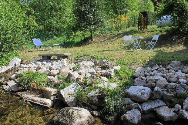 Location de vacances - Maison - Villa à Ventron - coté rivière privatif.