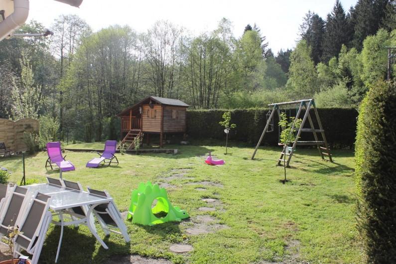 Location de vacances - Maison - Villa à Ventron - éxtèrieur amenagé