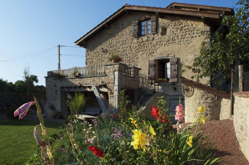 Location de vacances - Gîte à Chirassimont - Maison côté sud