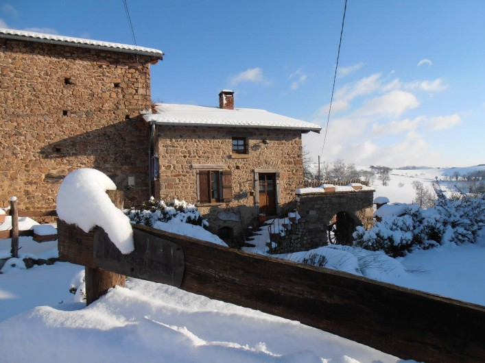 Location de vacances - Gîte à Chirassimont - Hiver 2011