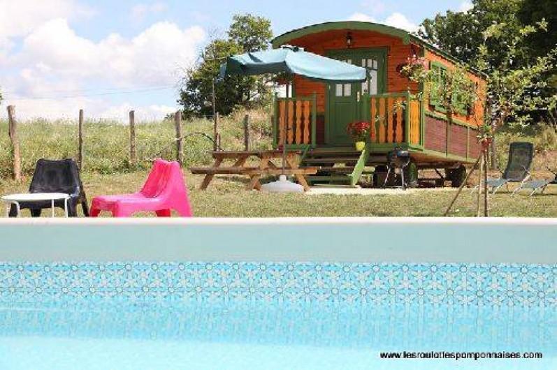 Location de vacances - Roulotte à Saint-Pompont