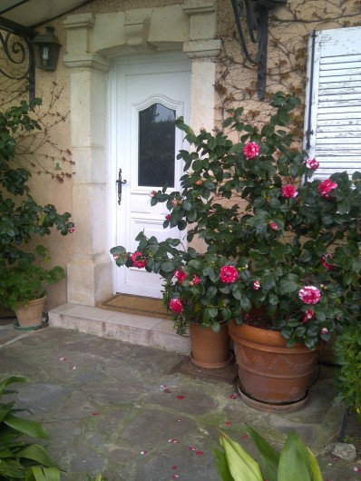 Location de vacances - Chambre d'hôtes à Ramatuelle - Entrée