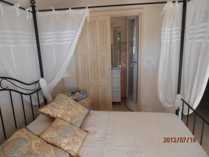Location de vacances - Chambre d'hôtes à Ramatuelle - Chambre double 1°étage  avec balcon