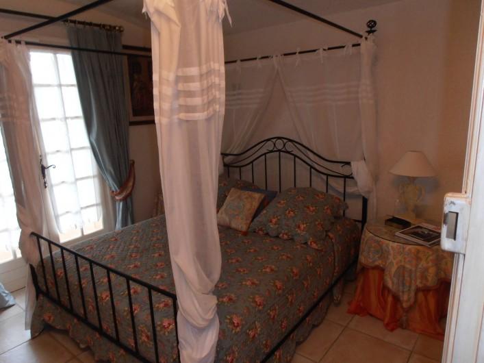 Location de vacances - Chambre d'hôtes à Ramatuelle - Chambre Double 1° étage avec Balcon