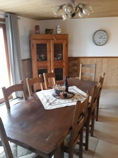 Location de vacances - Chalet à Bourg-Saint-Maurice - Salle a manger