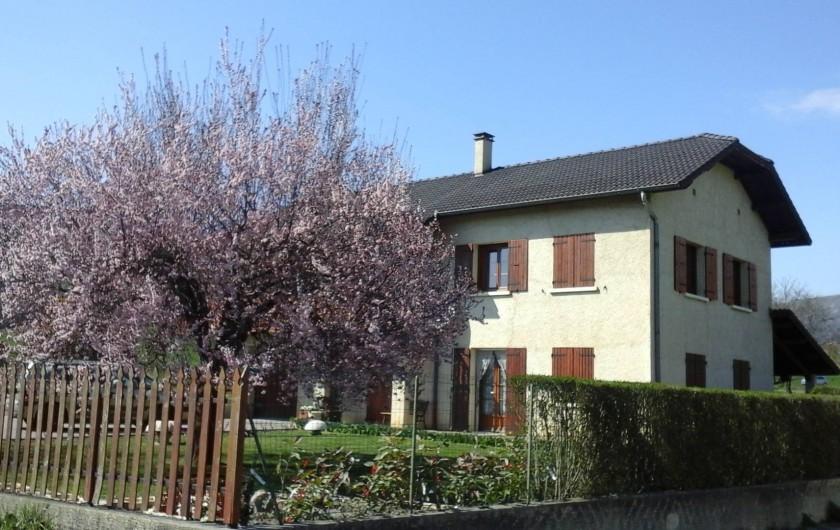 Location de vacances - Appartement à Avançon - printemps