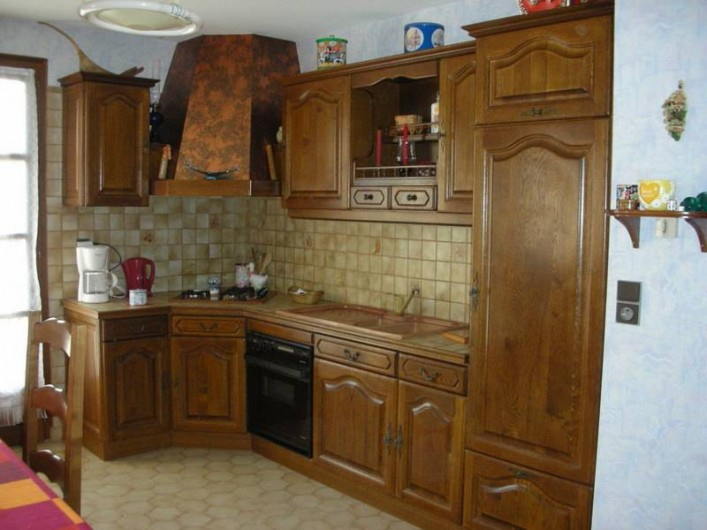 Location de vacances - Appartement à Avançon - cuisine