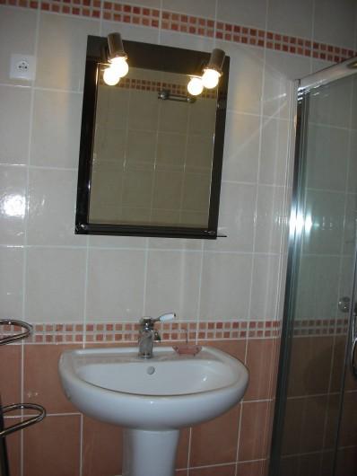 Location de vacances - Appartement à Avançon - salle de bains