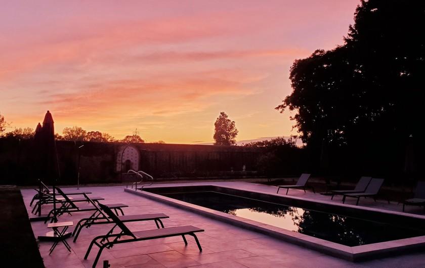 Location de vacances - Chambre d'hôtes à Béziers - Le ciel en feu!