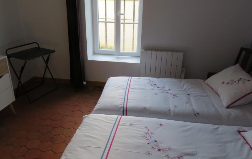 Location de vacances - Villa à Vosne-Romanée - 2 lits chambre du bas ( peuvent être fait en 1 seul sur demande