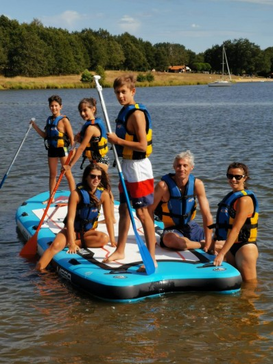 Location de vacances - Camping à Pressignac - En famille