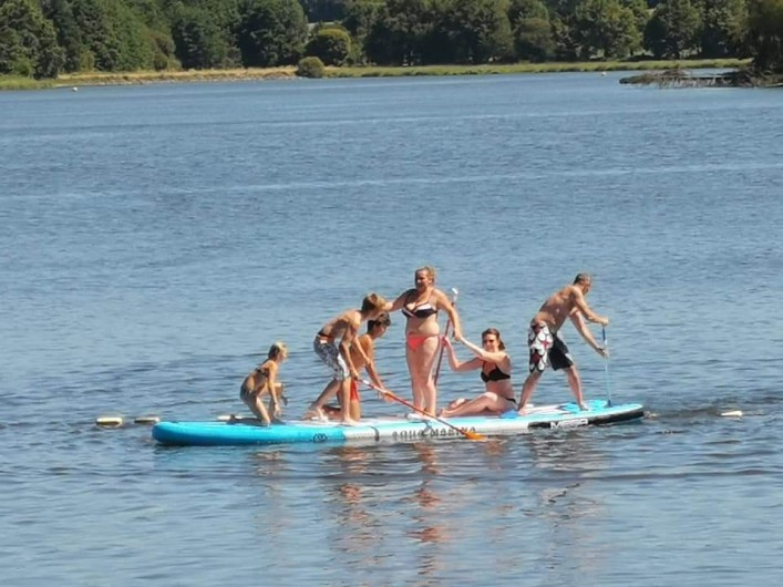 Location de vacances - Camping à Pressignac - Paddle Board