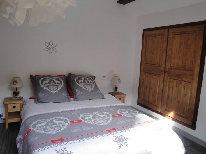 Location de vacances - Appartement à Valloire - CHAMBRE  1.6LIT DE 160