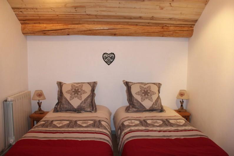 Location de vacances - Appartement à Valloire - CHAMBRE 2- 2x90 + possibilité lit parapluie