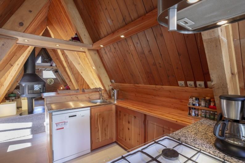 Location de vacances - Chalet à Bourg-Saint-Maurice - Coin cuisine (2)