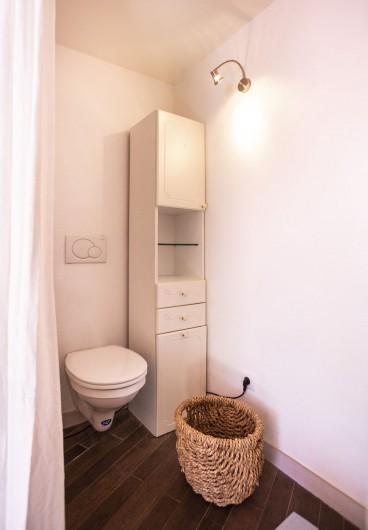 Location de vacances - Chalet à Bourg-Saint-Maurice - Toilette chambre 1